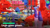relates to Lego Plans to Reduce Carbon Footprint