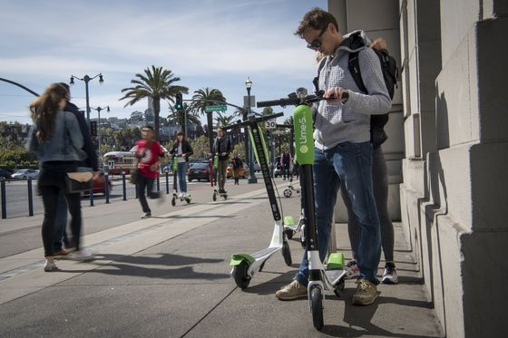 E-Scooter Riders Bang Heads and Break Bones, But Lawyers Say Suits Are Hard