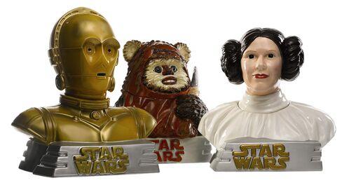 Star Wars cookie jars