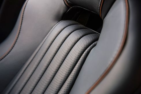 The seats in the front are heated and ergonomically designed.