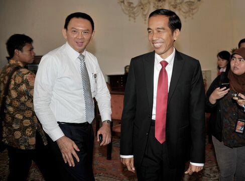 Ahok with Jokowi