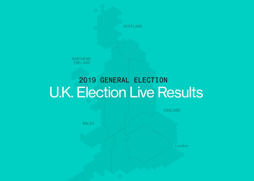 relates to U.K. Election Results: Live Map