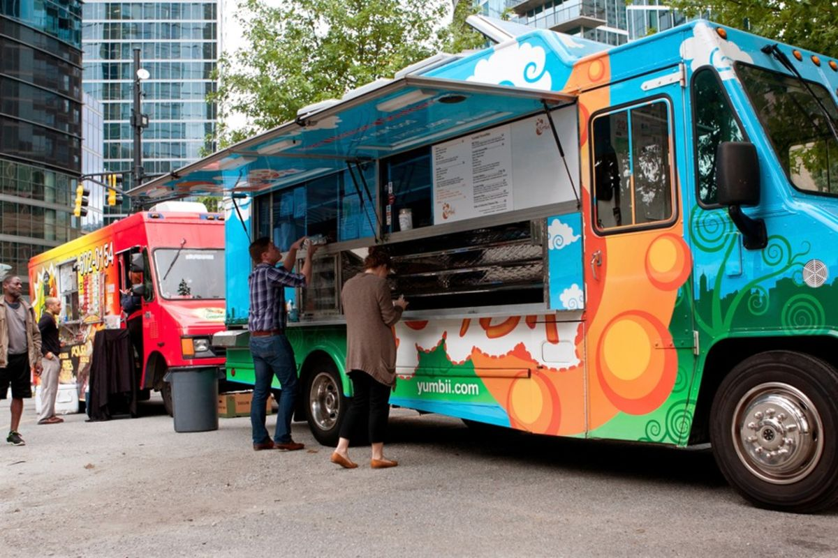 The Secrets to Food Truck Location - Bloomberg
