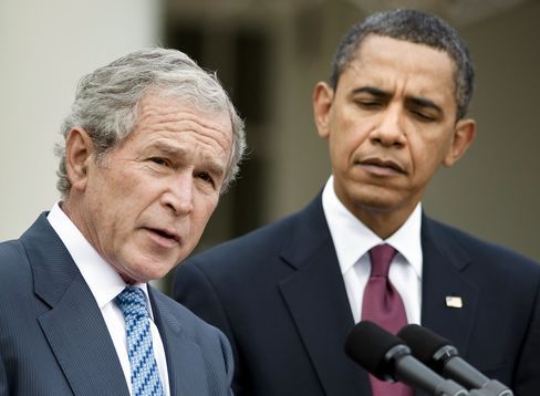 U.S. Presidents Obama & Bush