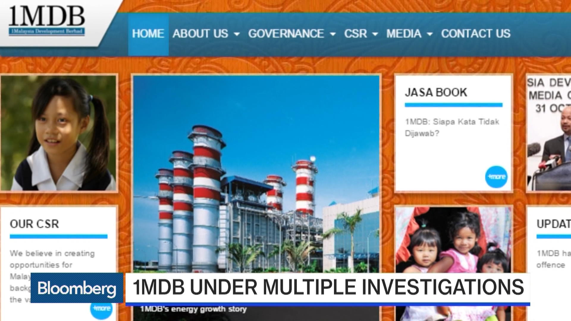 Chief of Malaysia's Embattled 1MDB Says My Job Is Done Here