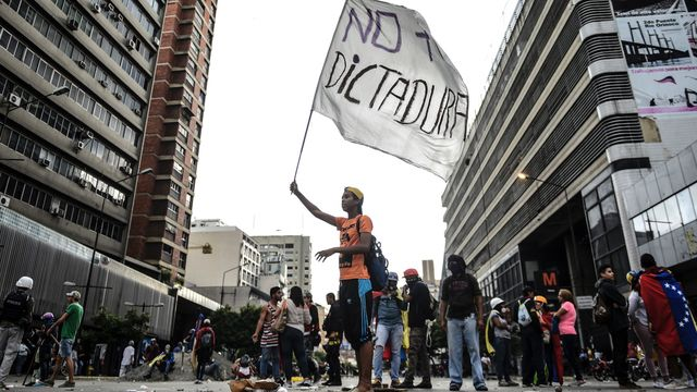 Venezuela Anti-U.S. Revolt Collapses in Poverty, Mass Migration