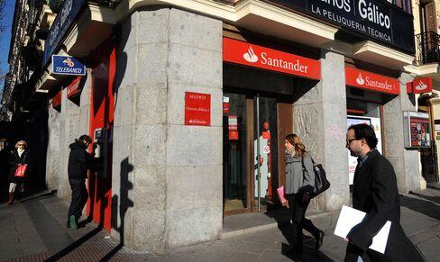 Santander Profit Slumps After Spanish Real-Estate Cleanup