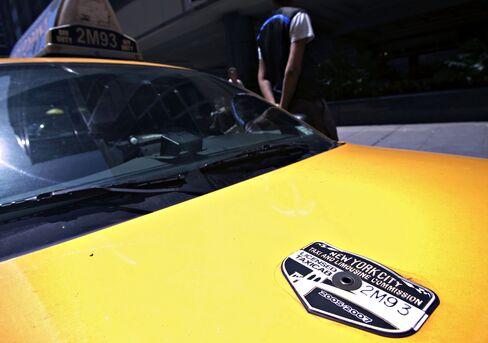 New York's Pricey Cab Medallions