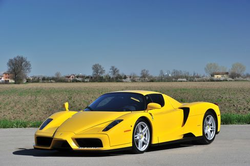 The Ferrari Enzo came out in 2002 featuring the best of technology, engineering, and design. It also sported some arresting exterior paint choices.