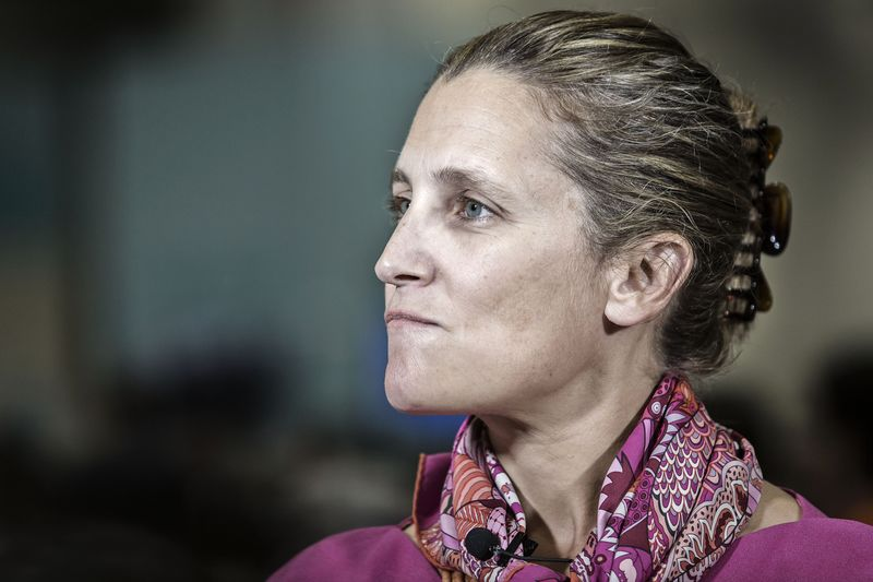 Chrystia Freeland. Photographer: Qilai Shen/Bloomberg