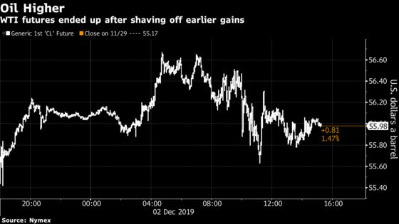 Oil Rises as Prospects for Deeper OPEC Cuts Take Center Stage