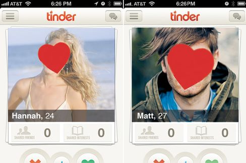 Dating App Tinder Catches Fire