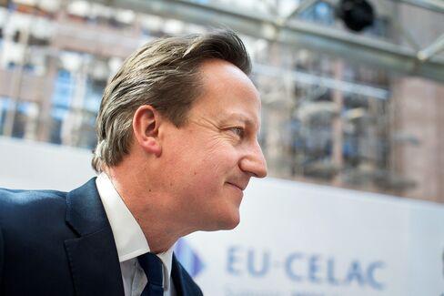 David Cameron, U.K. prime minister.