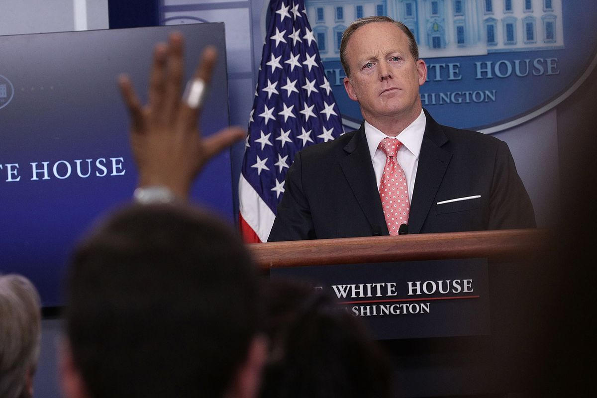 Trump Weighs New Role for Press Secretary Sean Spicer