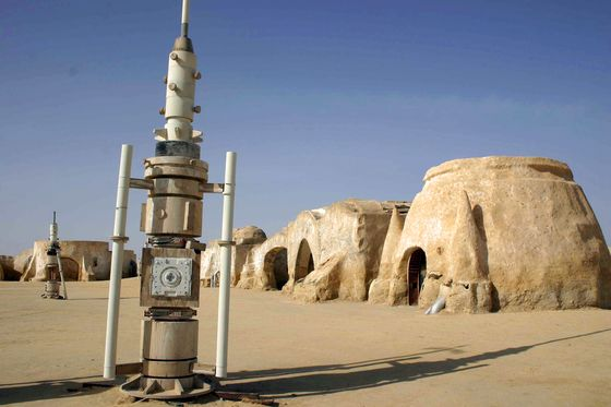 'Star Wars' Backdrop in North Africa Is Now Producing Natural Gas