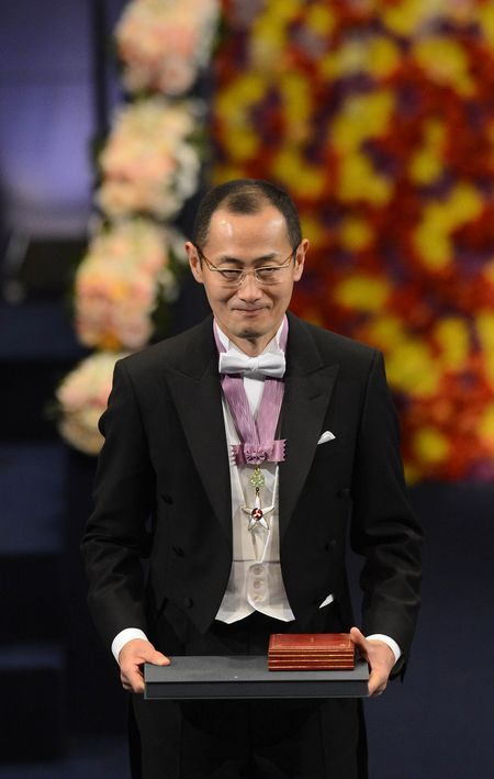 Shinya Yamanaka receives his Nobel Prize in 2012 for his research in iPS cells.