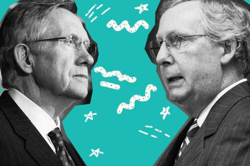 Harry Reid and Mitch McConnell Settle Their Filibuster Feud, for Now