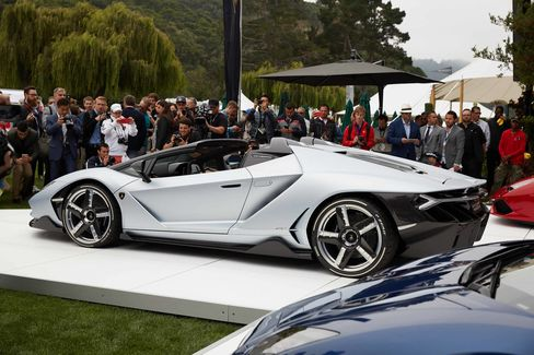 Lamborghini debuted the Roadster version of the Centenario supercar at the Quail gathering in Carmel, Calif., earlier this month.