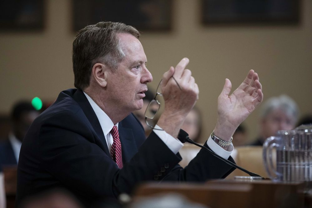 Lighthizer to Meet China Trade Chief Before Presidential Summit