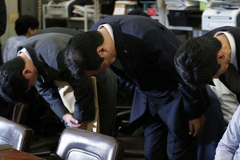 Mizuho Financial President Yasuhiro Sato
