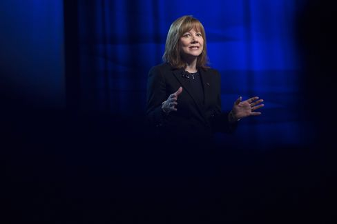 General Motors Co. CEO Mary Barra