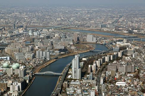 Japan Land-Price Drop Narrows as Low Rates and REITs Lift Demand