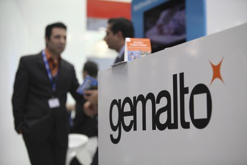 Gemalto Sees Doubling of Business in Cards That Beam Cash