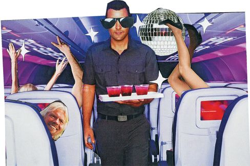 Virgin America: All Aboard the Party Plane
