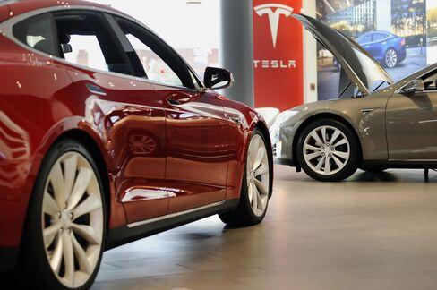 Inside A Tesla Motors Inc. Retail Store As Stock Sale Raises $738 Million