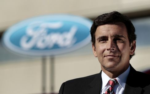 Ford Said Near Naming Fields as COO in Mulally Succession Plan