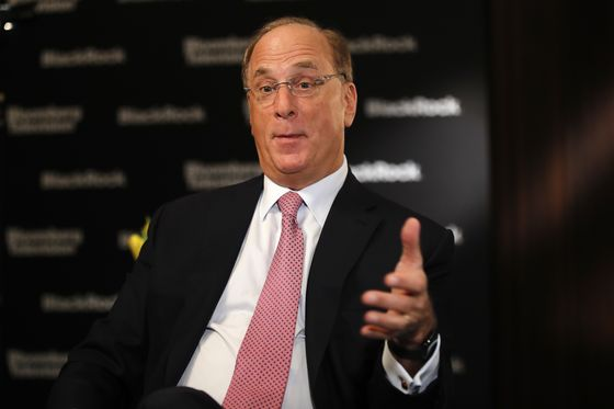 BlackRock's Larry Fink Sees Markets Rising on U.S. Fiscal Moves