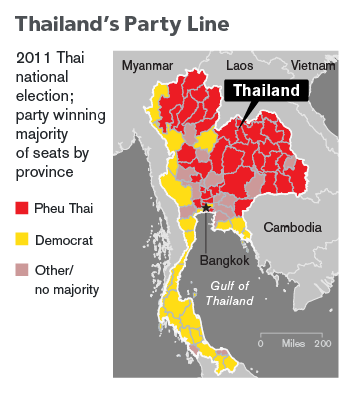 Thailand S Troubled Democracy