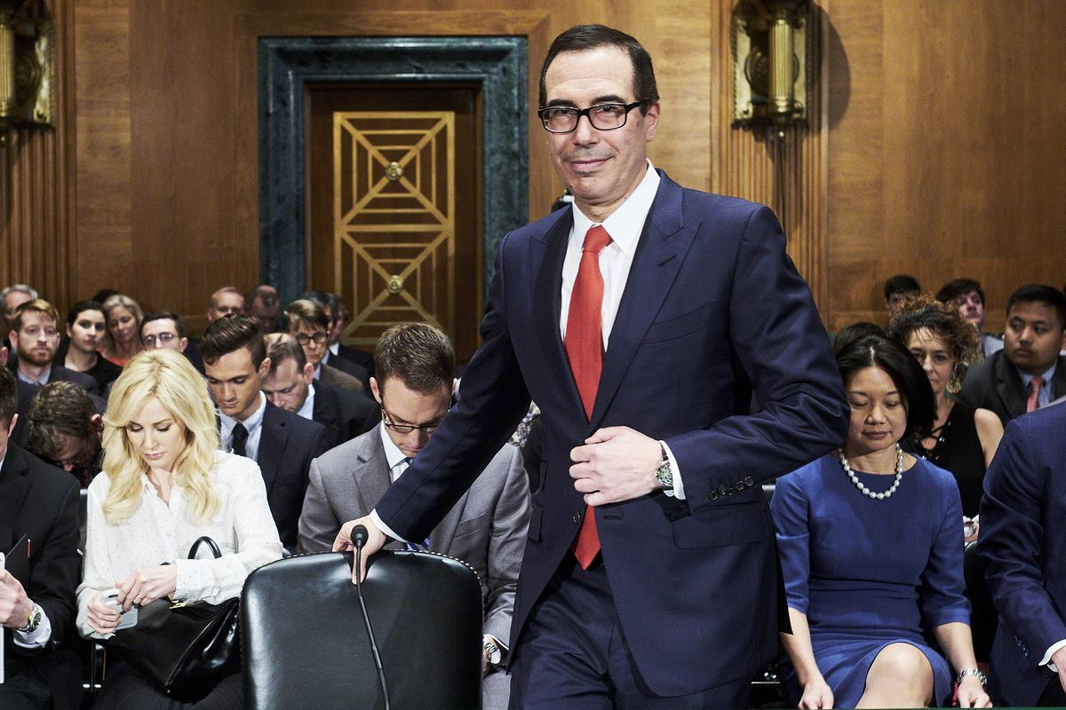 Mnuchin Made at Least $15 Million on Entertainment, Real Estate
