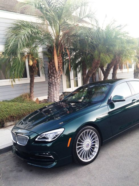 The B6 Alpina gets 600 horsepower and has a top speed of 200 miles per hour.