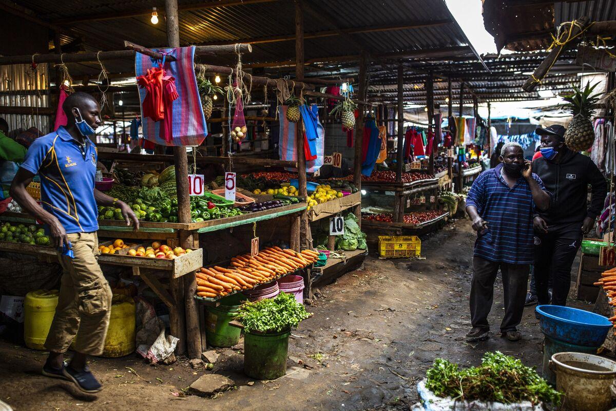 bloomberg.com - David Herbling - Kenya Inflation Slows as Food-Price Growth Cools