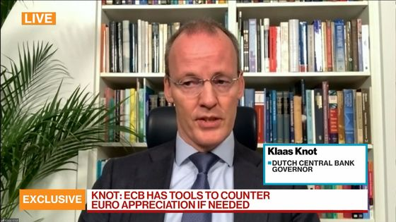ECB's Knot Says Tools Are Available to Counter Euro Strength