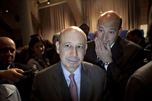 Goldman Sach's Blankfein and Cohn