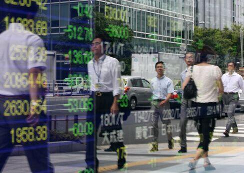 Japan's Topix Drops Sixth Day