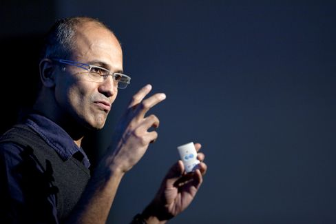 Microsoft Cloud & Enterprise Exec VP Satya Nadella