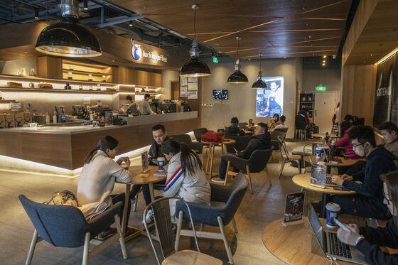 Chinese Starbucks Rival Luckin CoffeeStartsWork on U.S. IPO