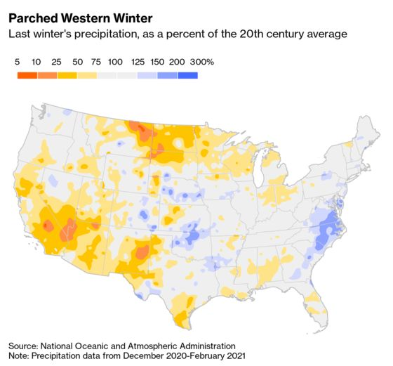 California's Dry Season Is Turning Into a Permanent State of Being