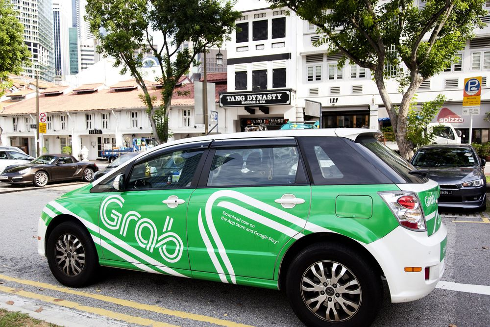 Asia's Ride-Hailing App Grab Invests in U.K. Software Startup