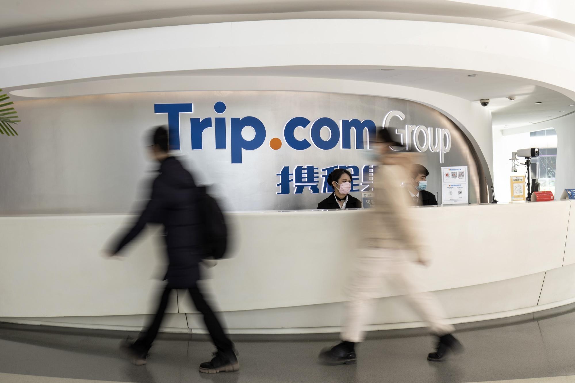 Trip.com headquarters in Shanghai.