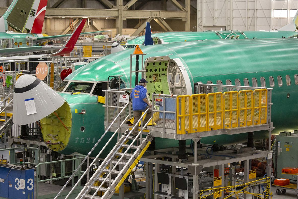 Boeing Sees Max Factory Restart in May After Four-Month Shutdown