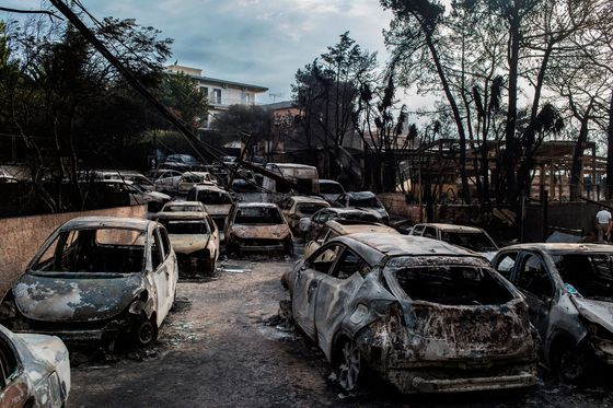 Greek Fires Near Athens Now See Death Toll Worse Than 2007
