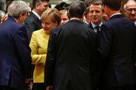 U.K. Prime Minister Theresa May Attends EU Leaders Summit Following Brexit Legislation Defeat