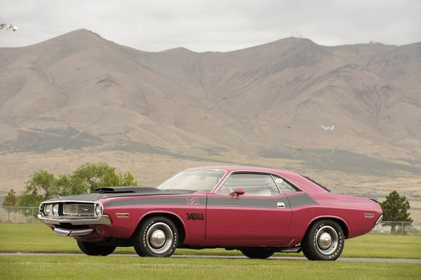 Dodge Challenger TA 1970. By Simon Clay. (Photo by National Motor Museum/Heritage Images/Getty Images)