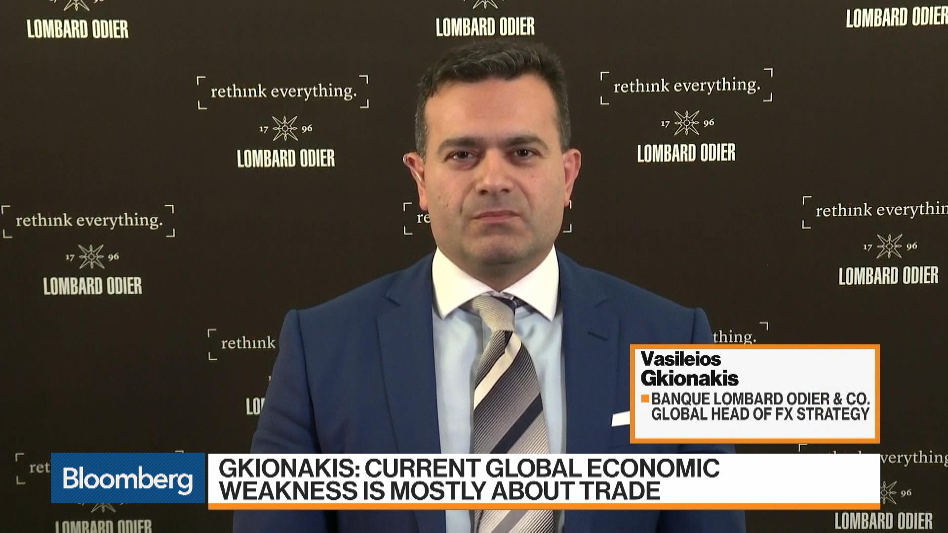 Across the Board' Bearish On U S  Dollar, Lombard Odier's