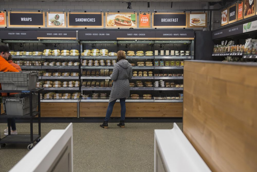 Amazon Go, One Year Old, Has Attracted a Host of Cashierless