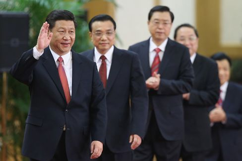 A Snapshot of China's New Leaders